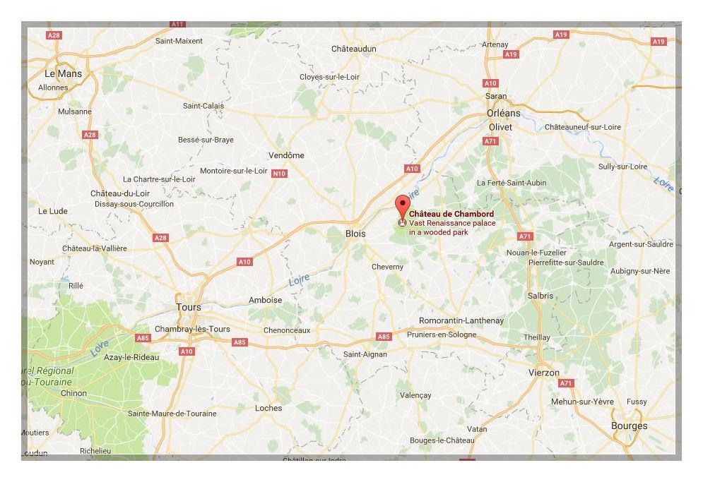 Chambord Location